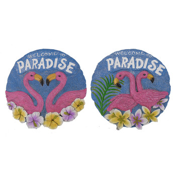 "10"" FLAMINGO STEPPING STONE - EACH"
