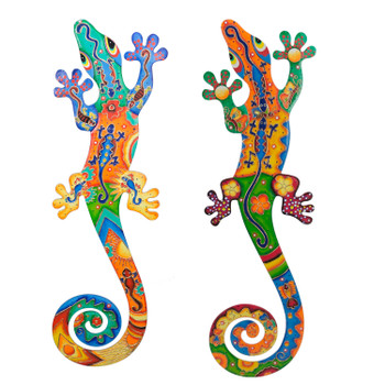 LARGE GECKO WALL HANGING - Each