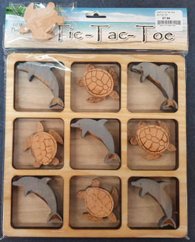 Dolphin-Turtle Tic Tac Toe