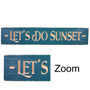 "24"" USA LET'S DO SUNSET ROUTED"