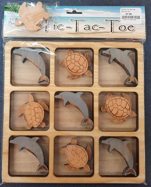 Dolphin-Turtle Tic Tac Toe