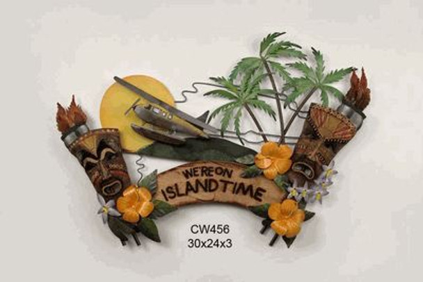 WE'RE ON ISLAND TIME