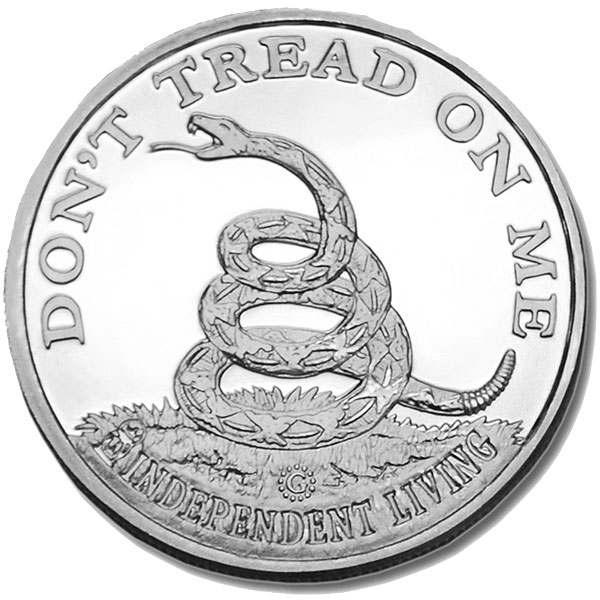dont tread on me front