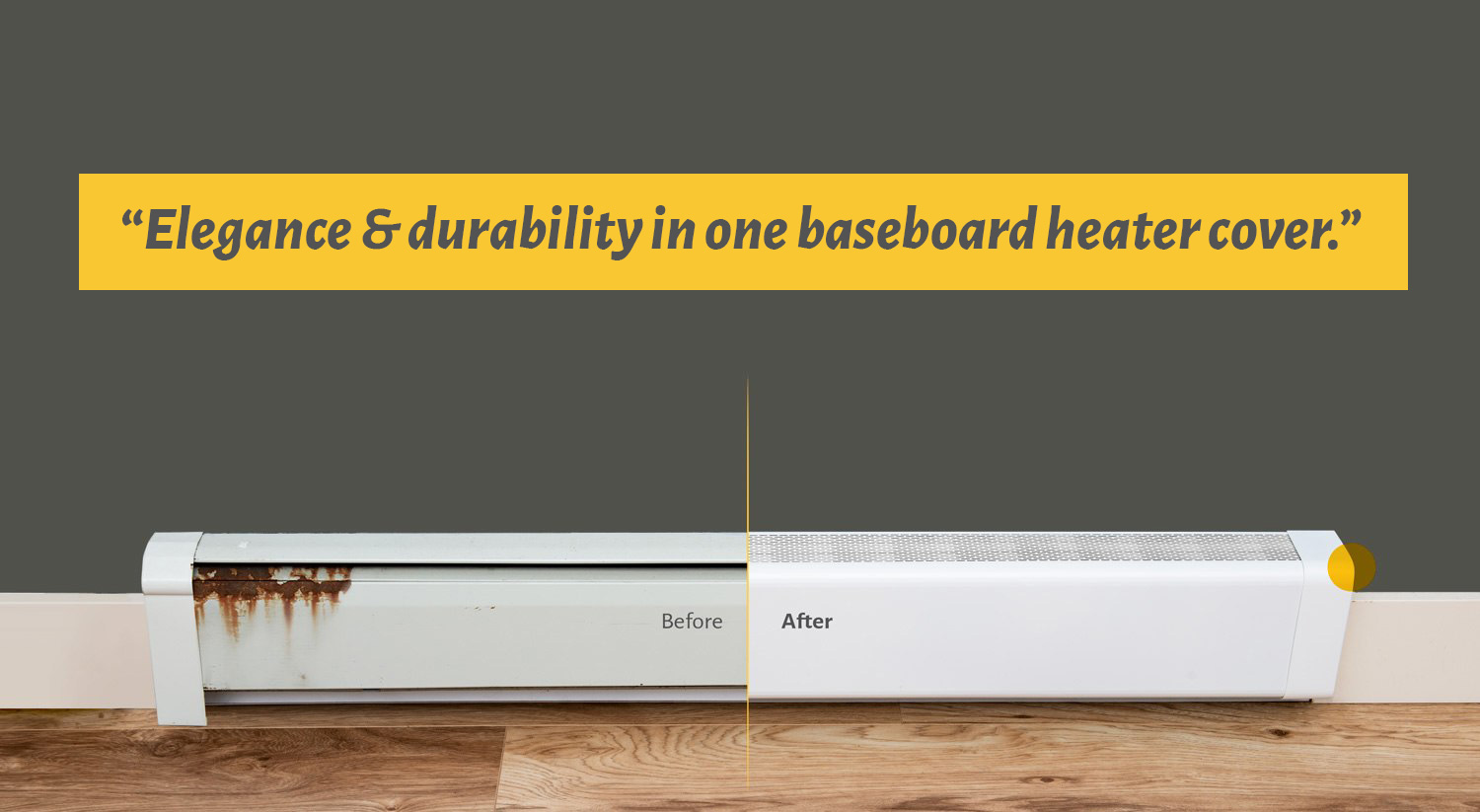 Titan No Rust Electric Hydronic Baseboard Heater Covers Coversbyveil Com