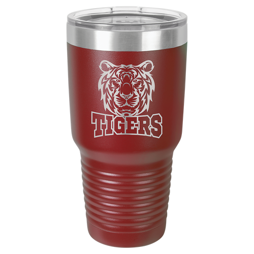 Maroon 30 oz. Insulated Travel Mug