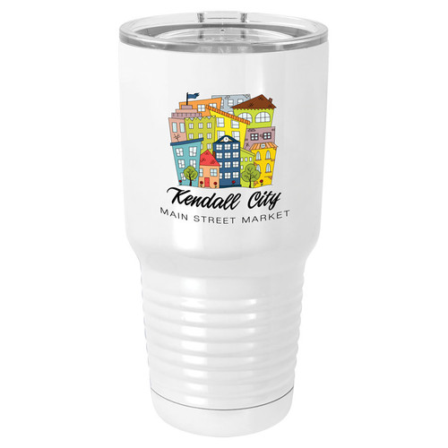 Custom Color 30 oz. Insulated Travel Mug