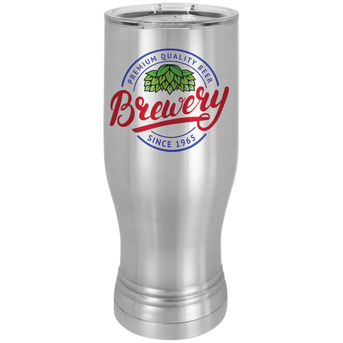 Stainless Steel 20 oz. Pilsner Glass