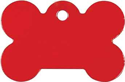 Red Customized Pet Tag