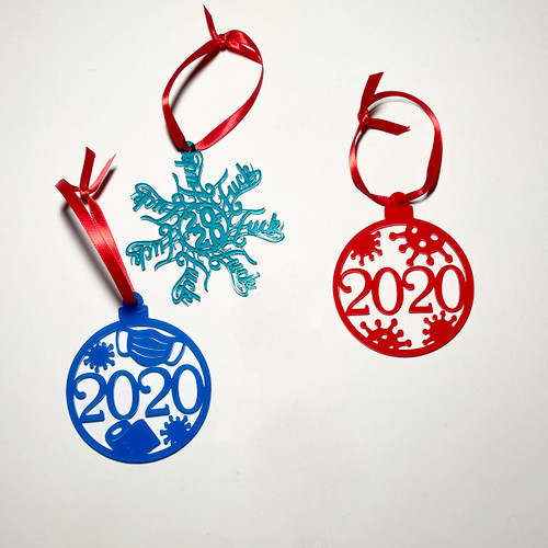 Acrylic Christmas Ornaments