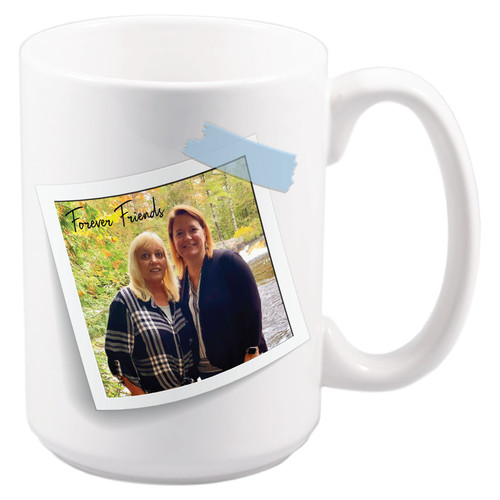 Photo Coffee Mug left tilt
