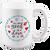 15 oz. Custom Color Ceramic Coffee Mug