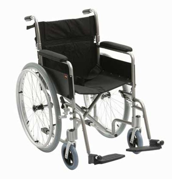 "Enigma Lightweight Aluminium Self Propelled Wheelchair 18"""