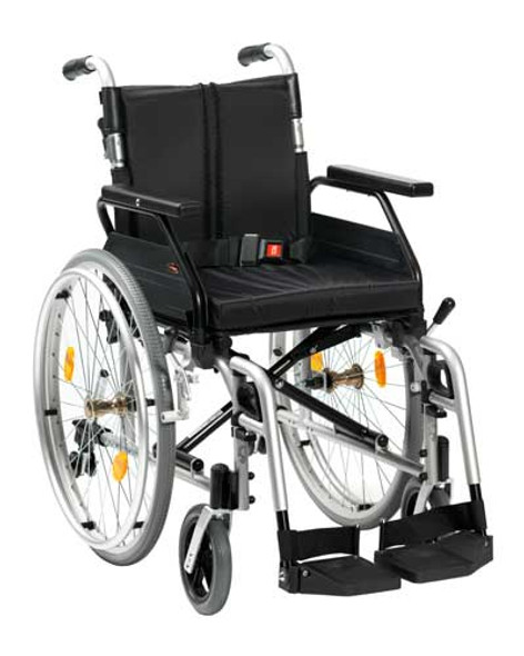 "XS2 Aluminium Wheelchair Self Propelled 18"" Seat Width"