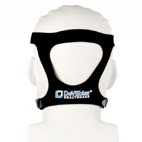 DEVILBISS D100 MASK HEADGEAR STRAP WITH CLIPS