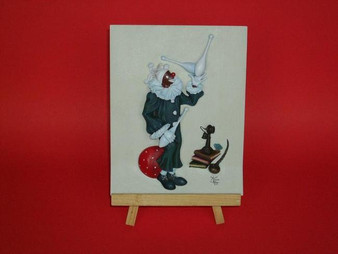 Juggles Clown Plaque - Annie Lee