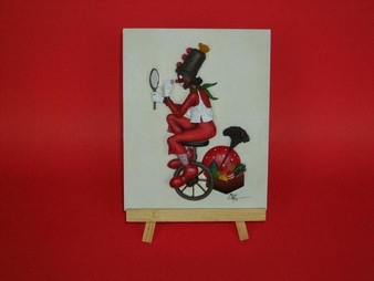 Valantine Clown Plaque - Annie Lee