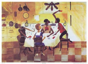 Six No Uptown Art Print - Annie Lee