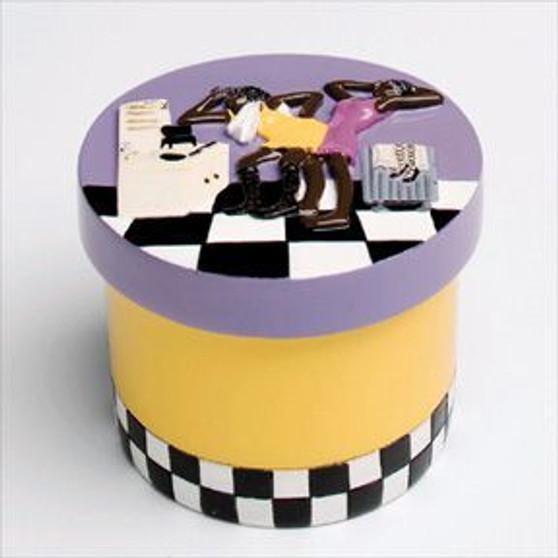 Primpin Accessory Jar-Small (Purple) - Annie Lee