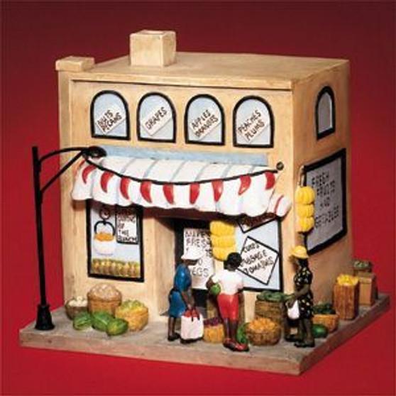 Mike's Fresh Produce Market Figurine - Annie Lee