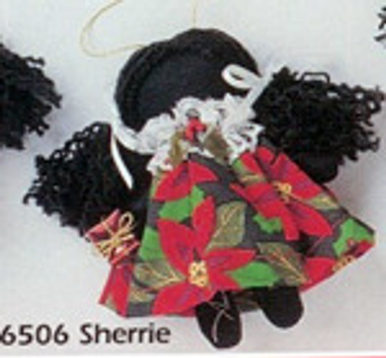 Sherrie - Holly Dolly Cloth Ornament