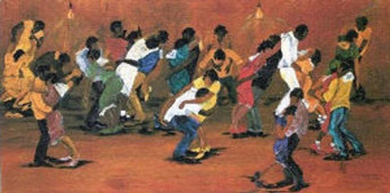 Dance Marathon Art Print - Annie Lee