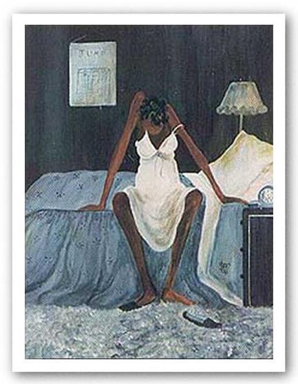 Blue Monday Art Print - Annie Lee
