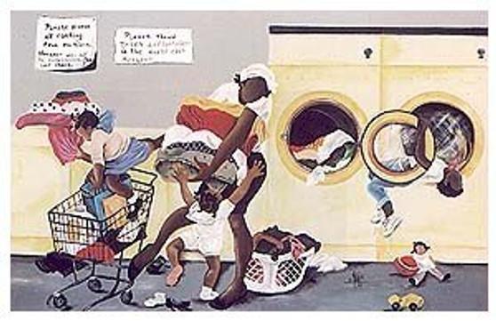 Spin Cycle Art Print - Annie Lee