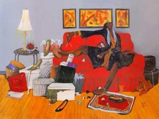 Maxed-Out Art Print - Annie Lee