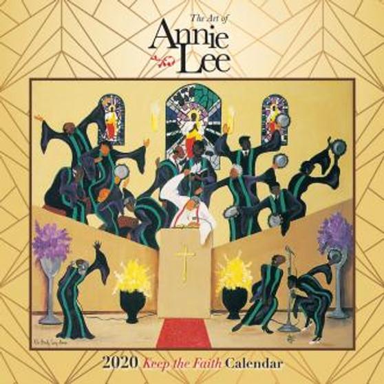 2020 The Art of Annie Lee African American Calendar