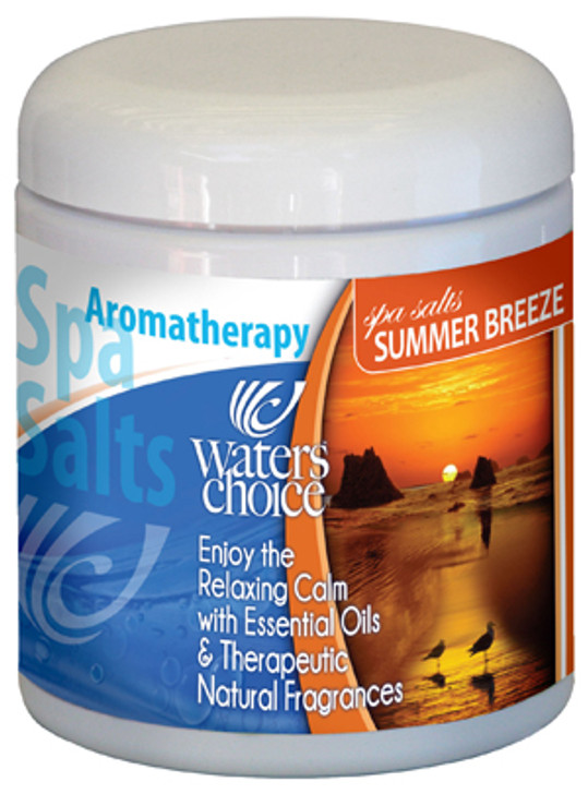 Summer Breeze aromatherapy spa salt