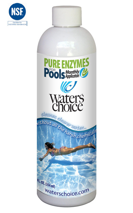 Pure Enzymes for Pools - Monthly Pool Water Treatment