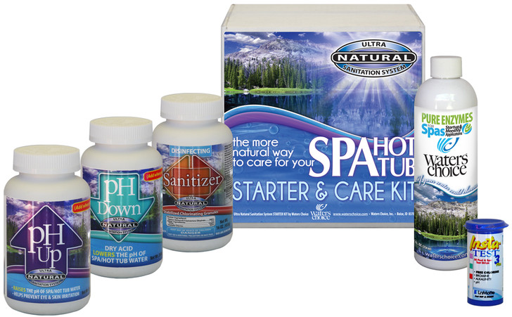 Spa Startup Kit - 1 Month Supply, Ultra Natural Sanitation System