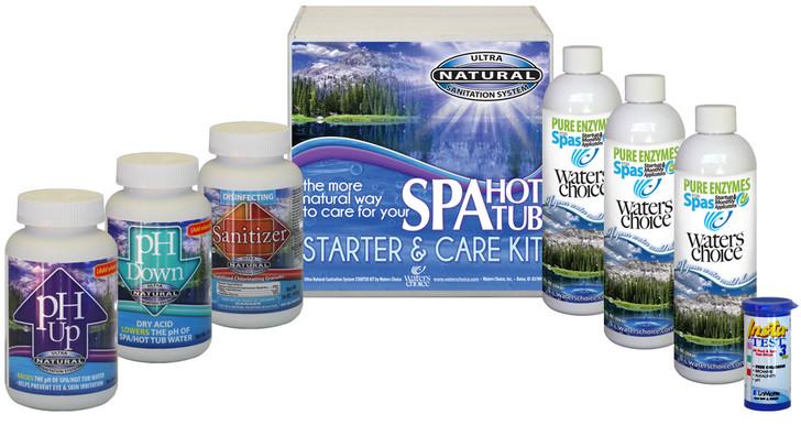 Spa Startup Kit - 3 Month Supply, Ultra Natural Sanitation System