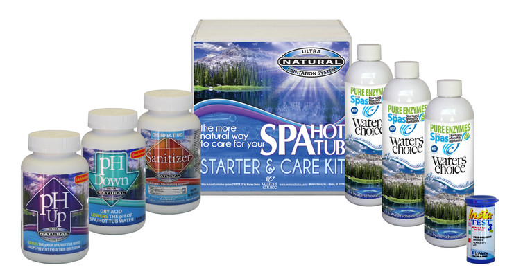 Spa Startup Kit - 3 Month Supply, Ultra Natural Sanitation System