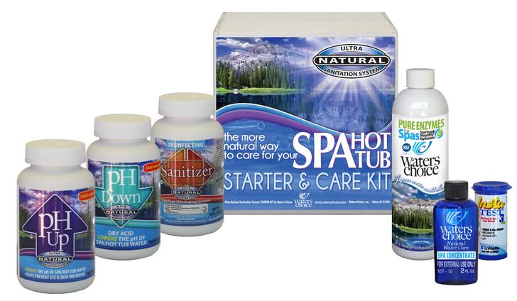 Spa Startup Kit - 7 Month Supply, Ultra Natural Sanitation System