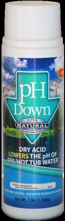 pH Down 3 lbs