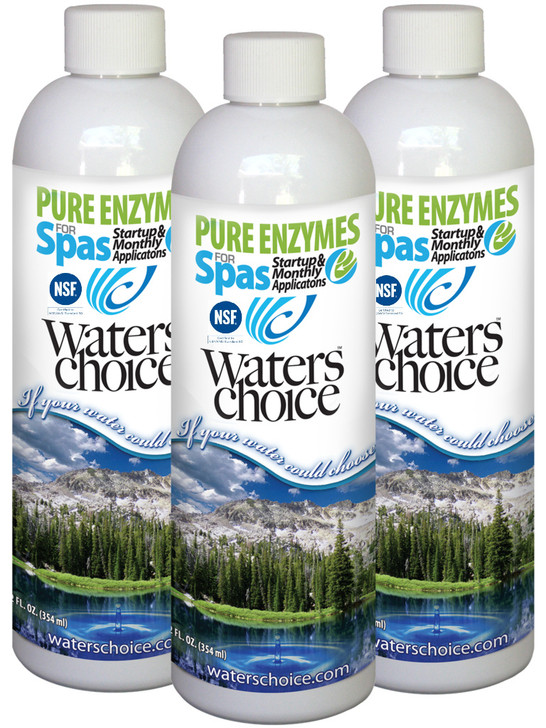 3-Pack of Pure Enzymes for Spas (3 month supply)