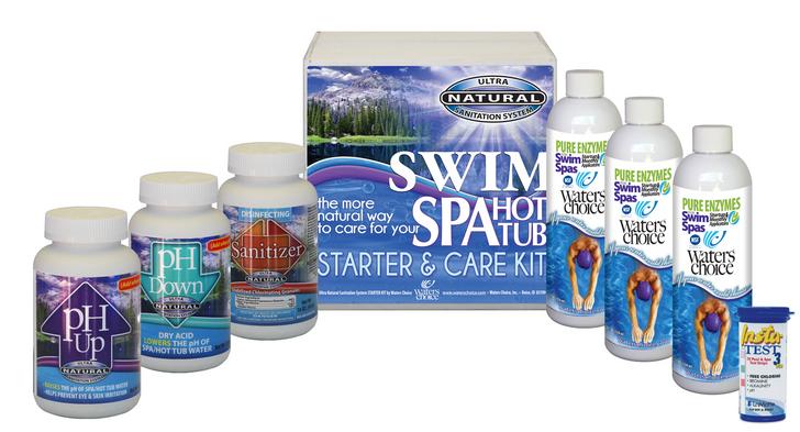 Swim Spa Start Up Kit - 3 Month Supply