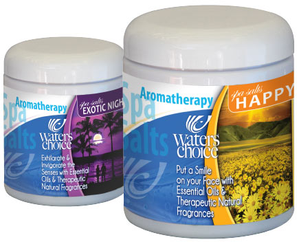 Aromatherapy Salts from Waters Choice