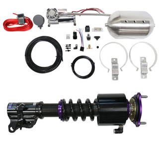 RS Coilovers w/ Front Air Cups + Silver Control System #D-VO-48-1-VACF-20+D2-ACK01