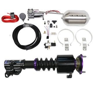 RS Coilovers w/ Front Air Cups + Gold Control System #D-PO-04-1-VACF-20+D2-ACK02