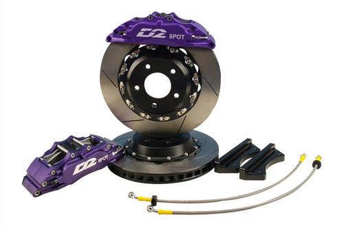 8 Piston Front Kit - Race 421mm Rotors #D2-BBKF421-RC