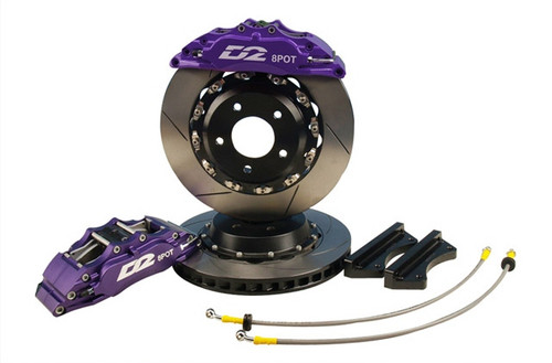 4 Piston Rear Kit - Race 356mm Rotors #D2-BBKR356-RC