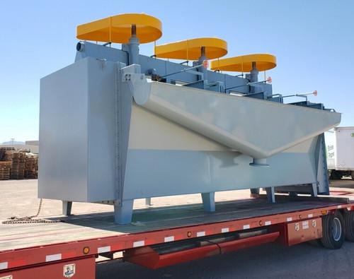 New unused Denver style DR flotation cells