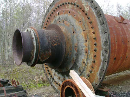8 x 21 ft Traylor Ball Mill with 500 HP