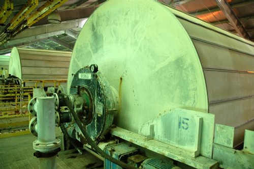 12 x 36 ft Large Rotary Drum Vacuum Filters