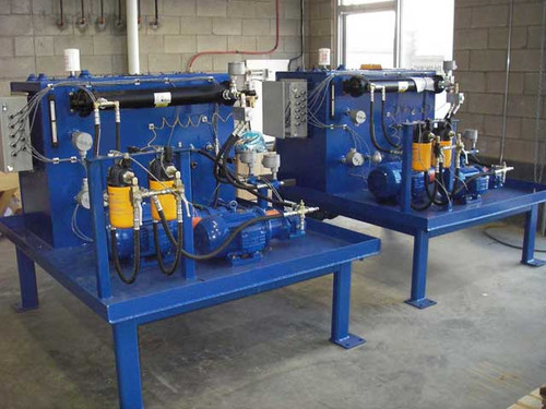 Two Pump Hydrodynamic Grinding Mill Journal Bearing Lubrication and Lift Unit