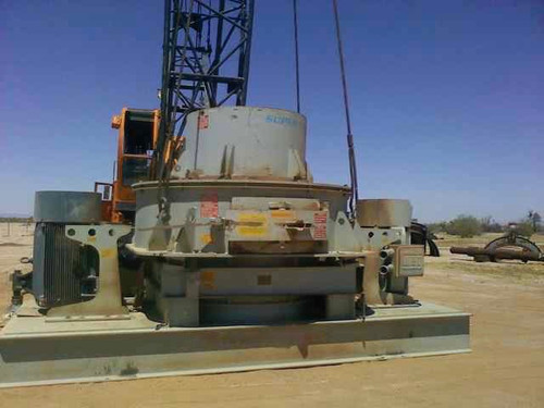 Super 100 REMco OreMax PreMill Vertical Shaft Impactor