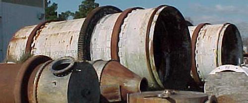 12 x 28 ft Vulcan Rotary Drum Agglomerator