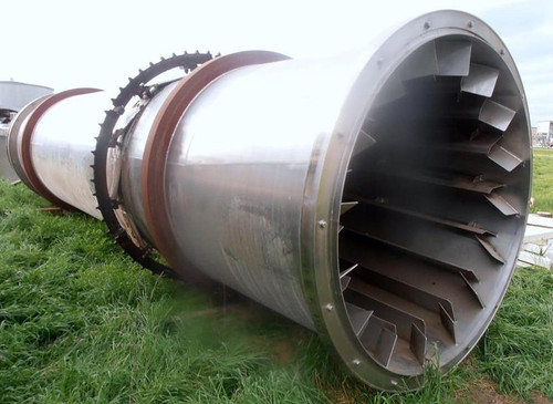 5 x 24 ft FMC Linkbelt Rotary Shell Dryer